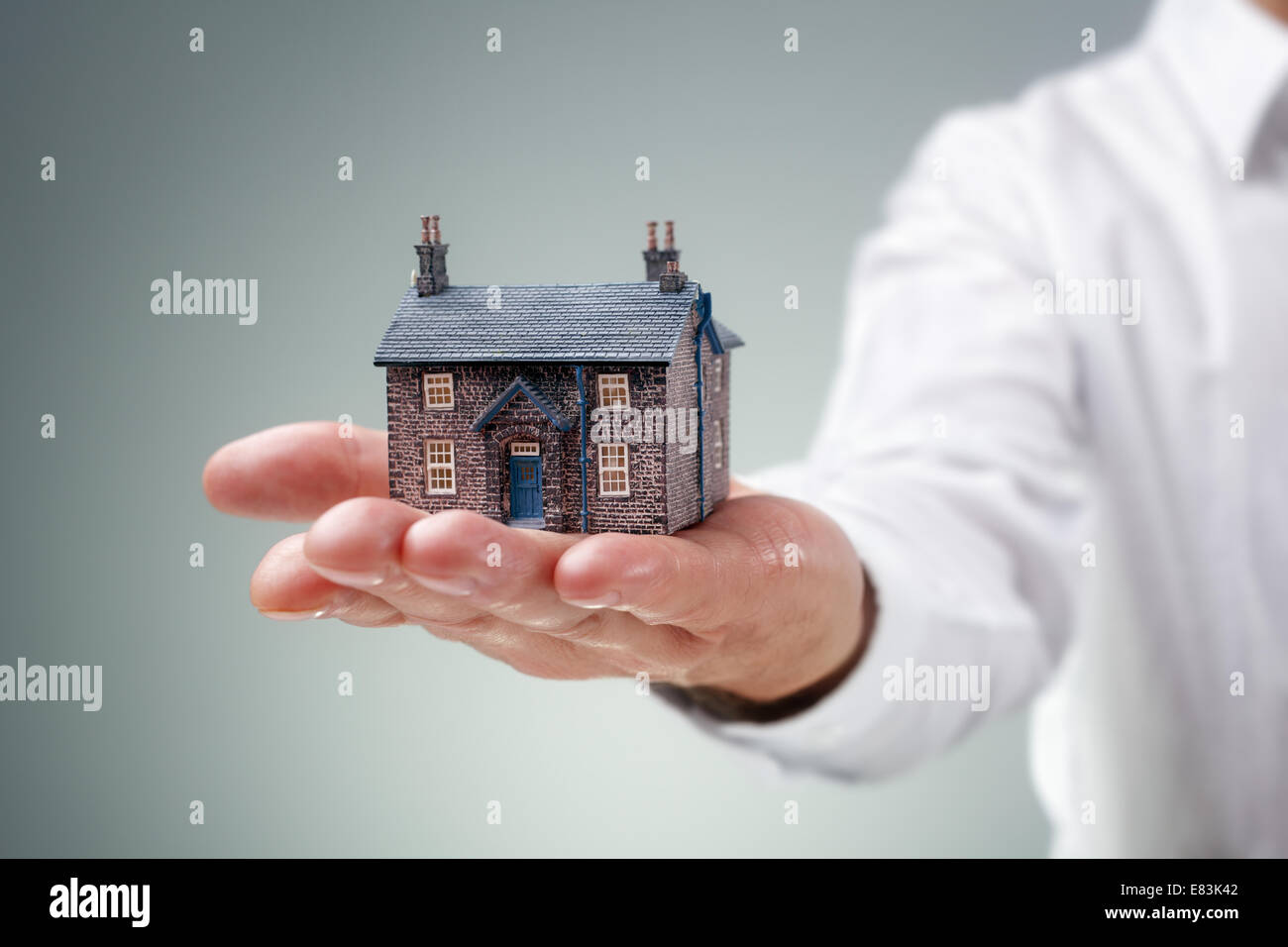 Immobilien Stockbild
