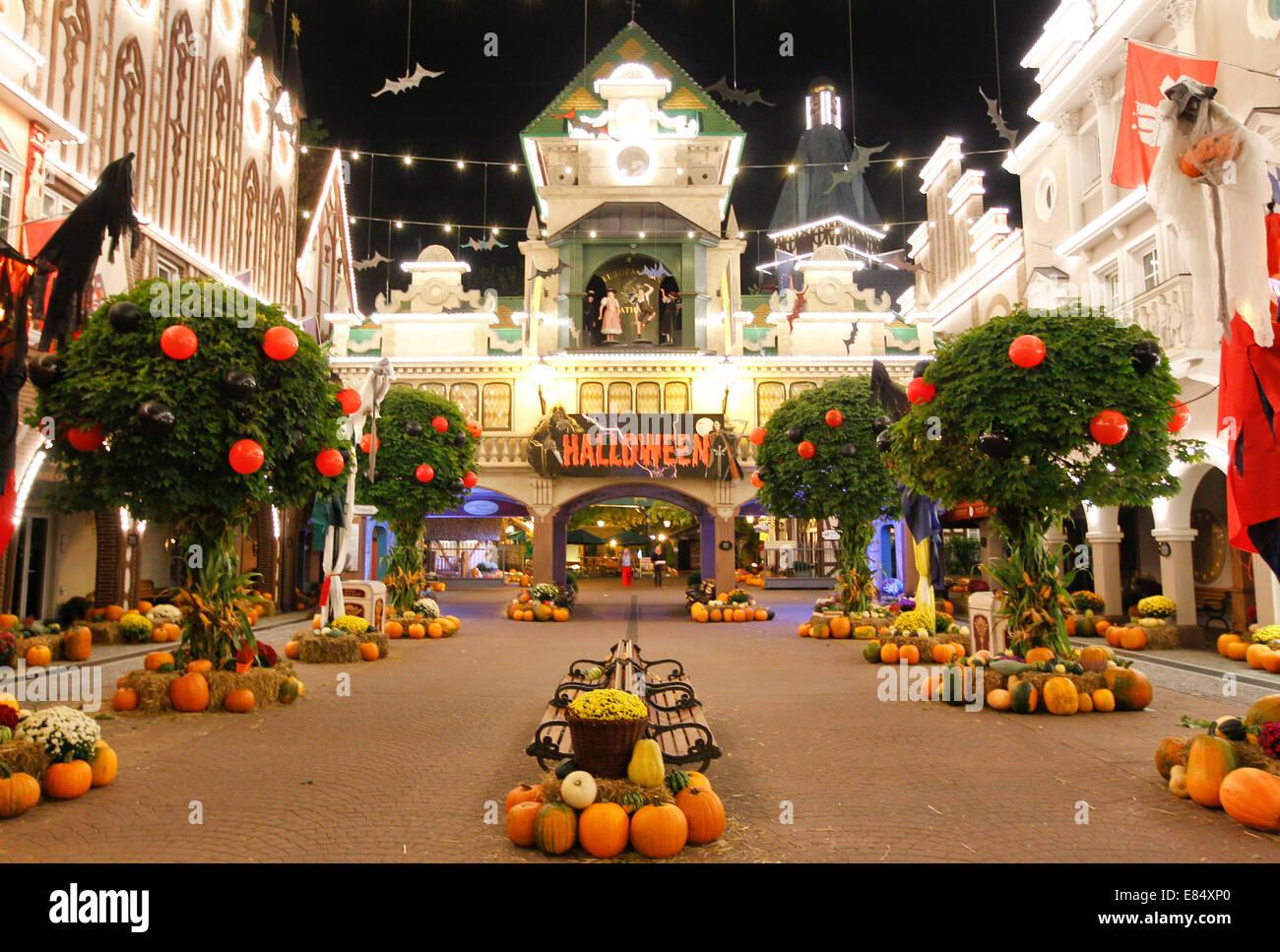 Rust Deutschland 25 September 2014 Halloween Und Spuk Mich