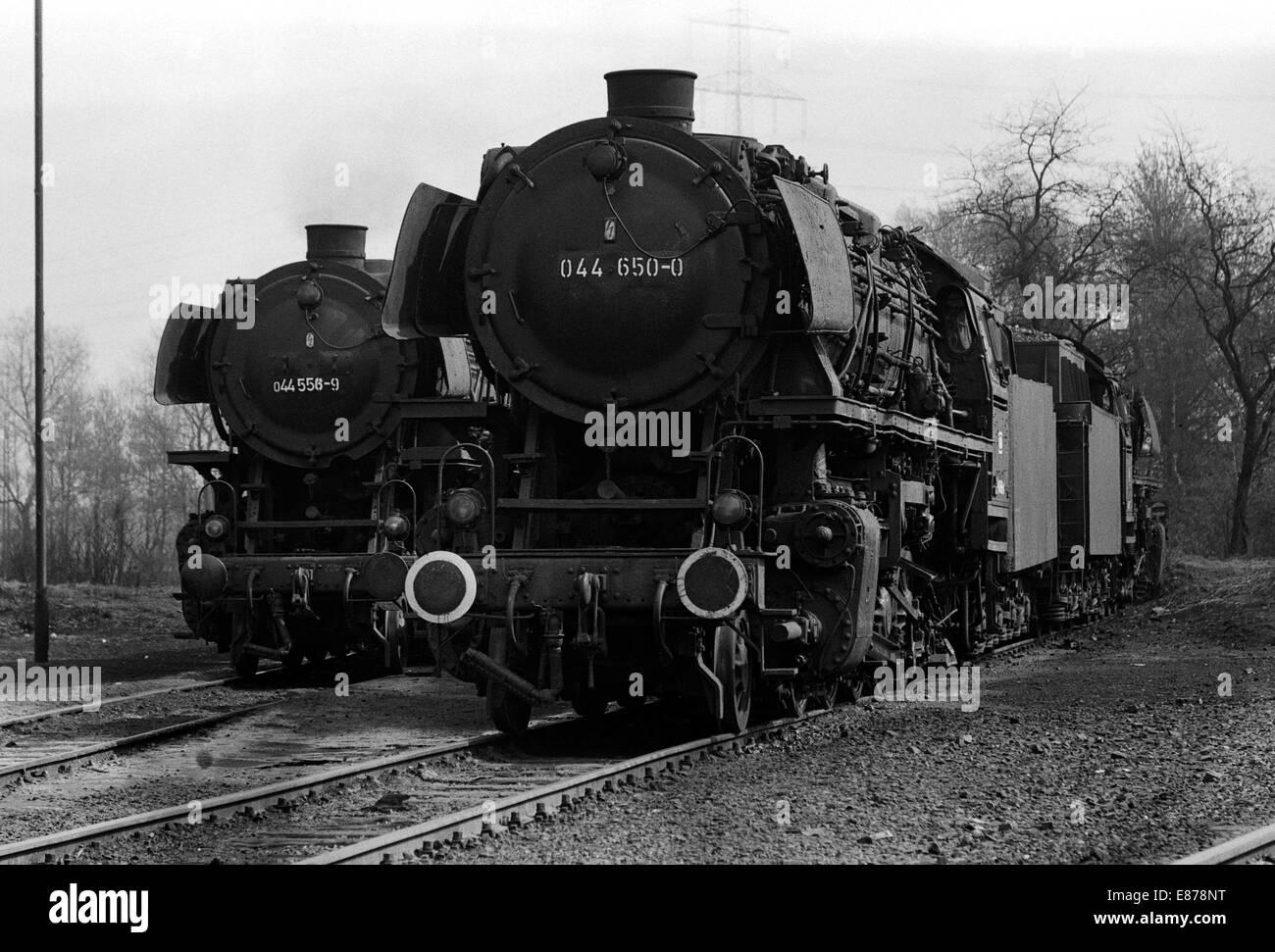 Gelsenkirchen Deutschland Der 044 650 Und 044 556 Im Depot