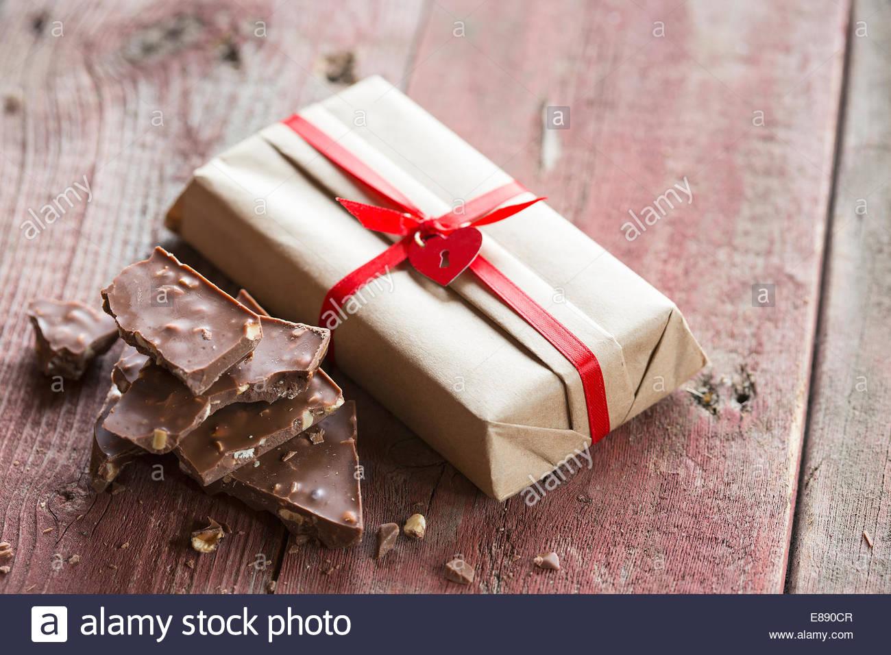 Stücke Schokolade Stockfotos & Stücke Schokolade Bilder - Alamy