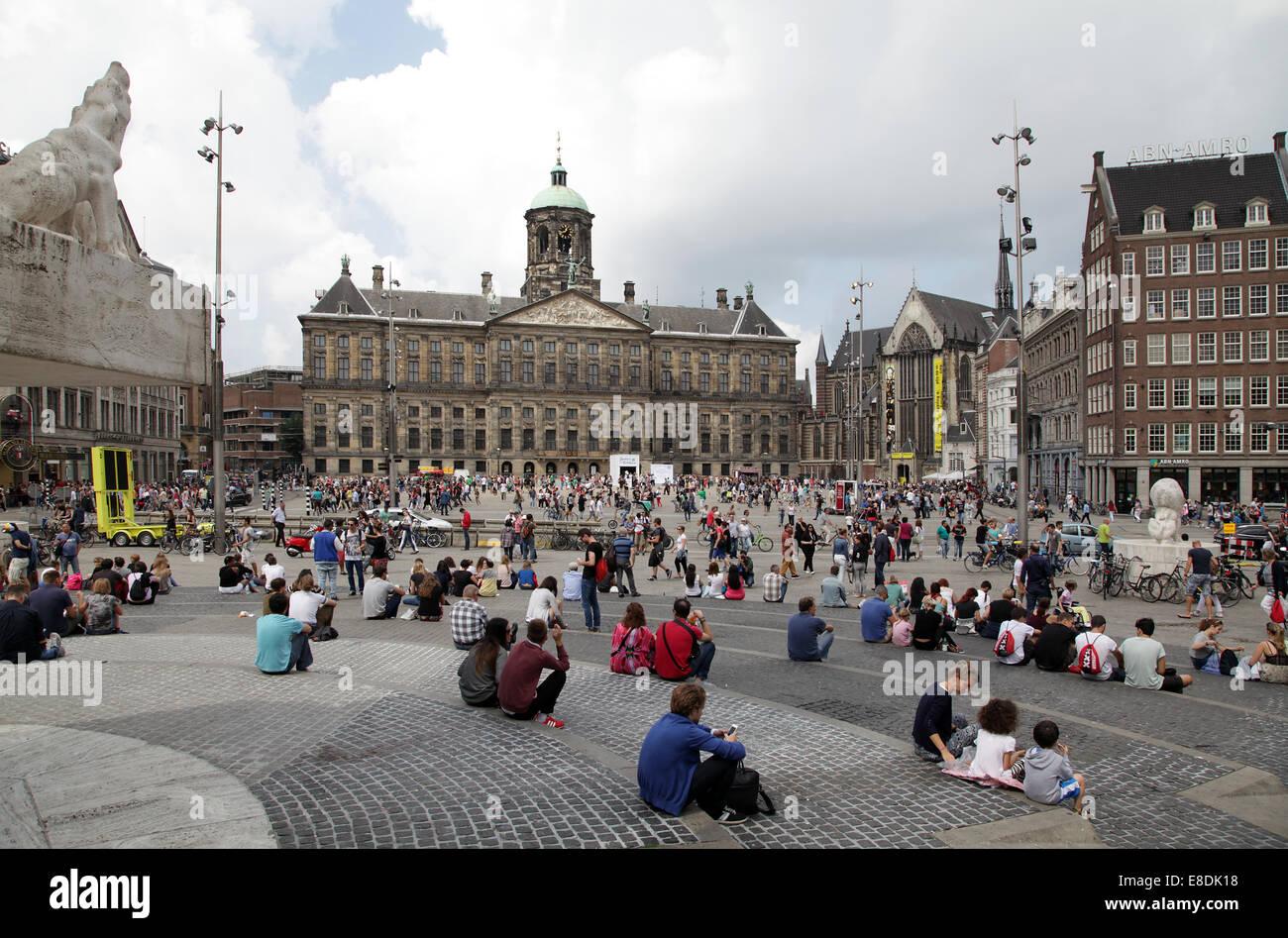 Der Königliche Palast in Amsterdam. Interieur. der Koninklijk Paleis ...