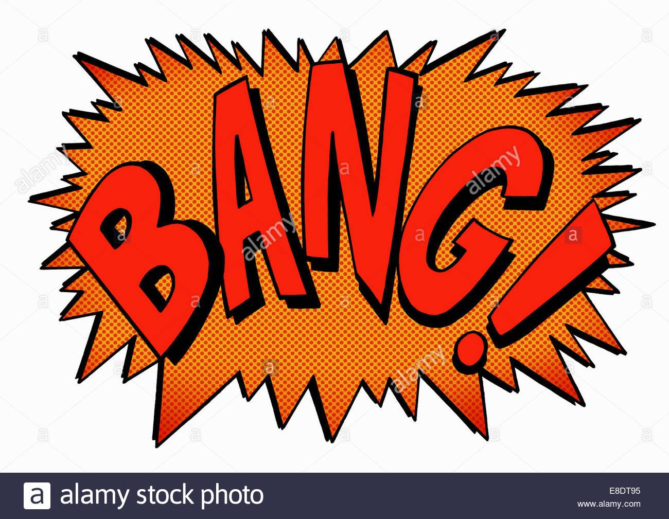 Vector Cartoon Bang Stockfotos Amp Vector Cartoon Bang