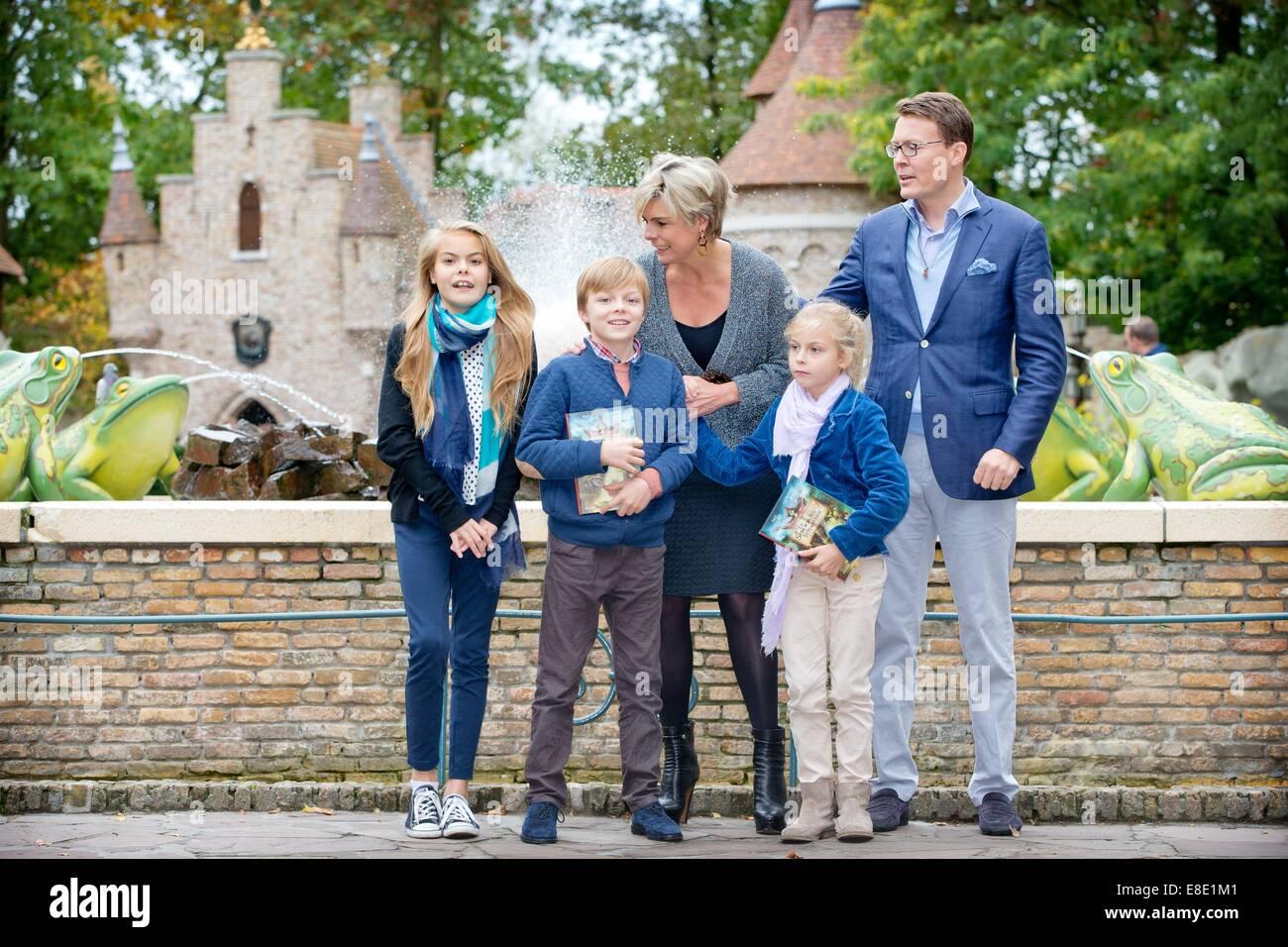 Niederländischen Prinzen Constantijn und Prinzessin Laurentien ...