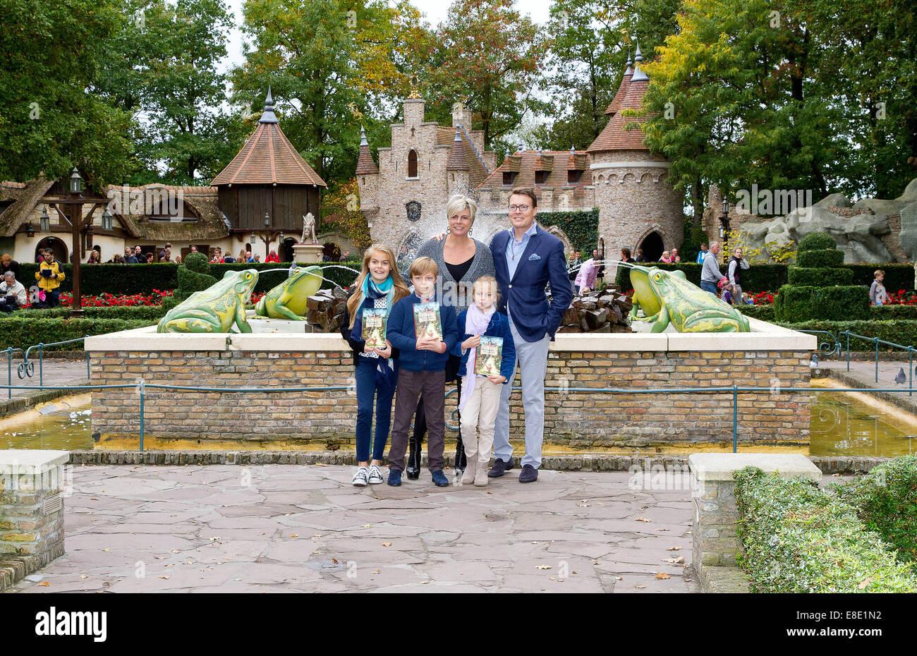 Kaatsheuvel, Niederlande. 5. Oktober 2014. Niederländischen Prinzen ...
