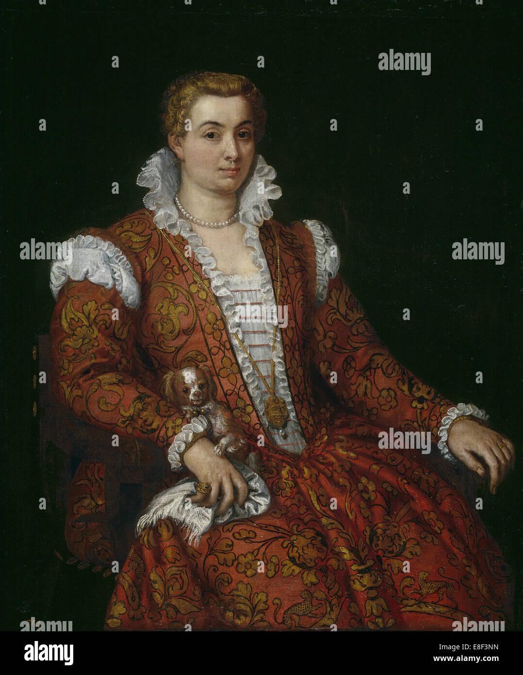 Livia Colonna. Künstler: Veronese, Paolo (1528-1588) Stockbild
