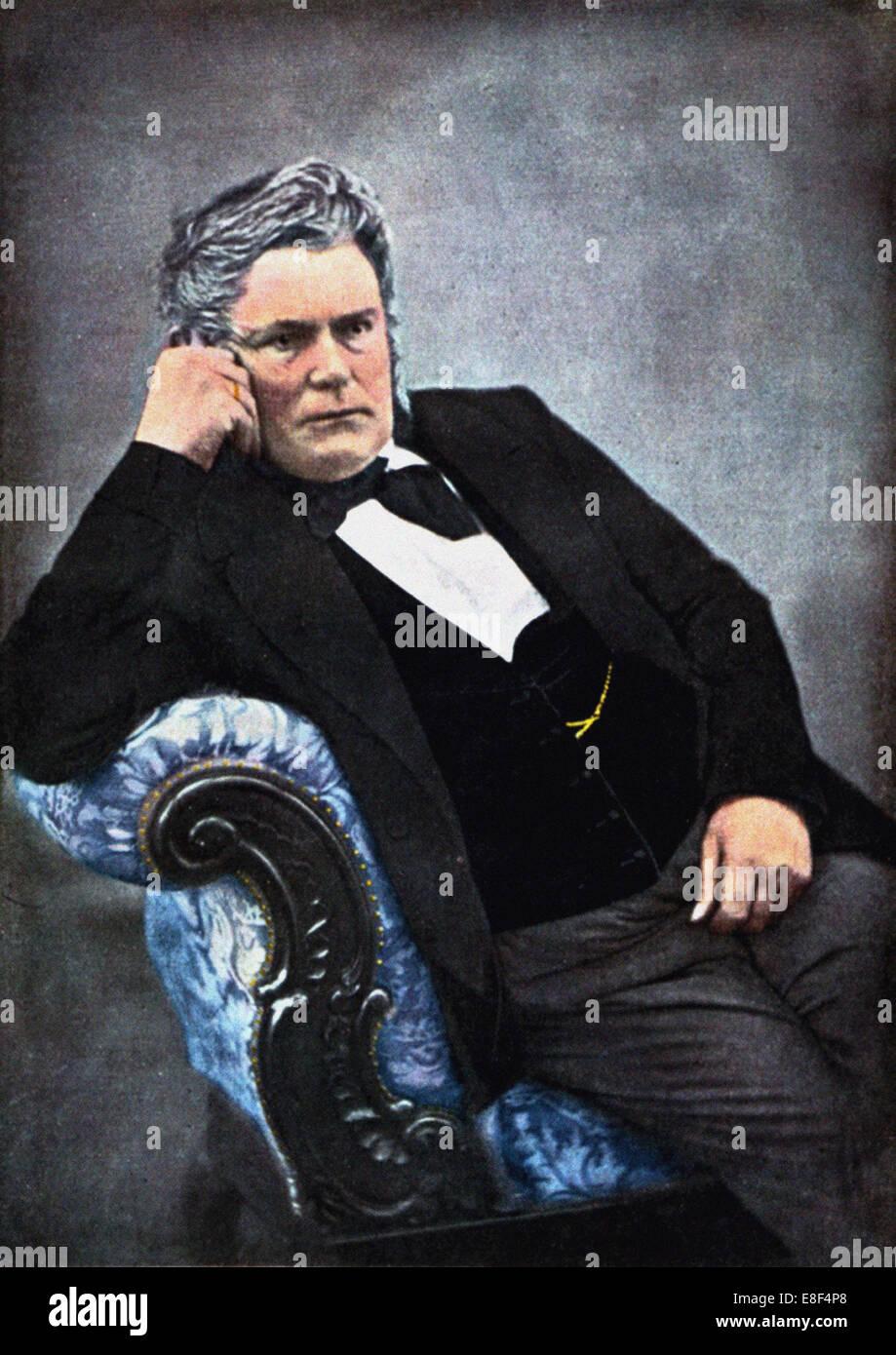 Immanuel Nobel (1801-1872), der jüngere Künstler: anonym Stockbild