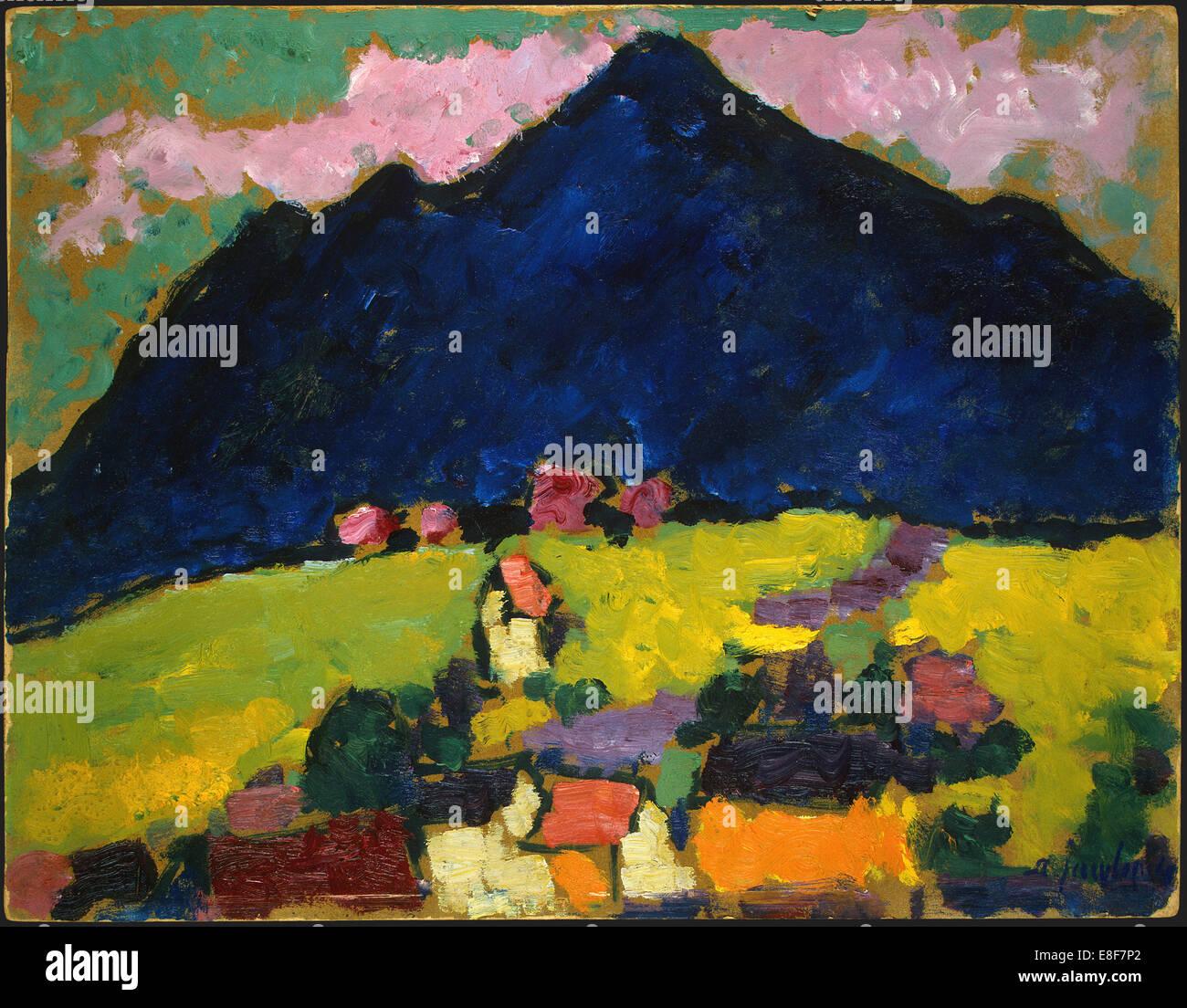 Murnau. Künstler: Jawlensky, Alexei, von (1864-1941) Stockbild