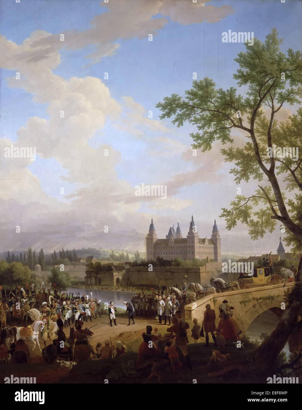 Künstler Aschaffenburg treffen zwischen napoleon und baron karl dalberg in