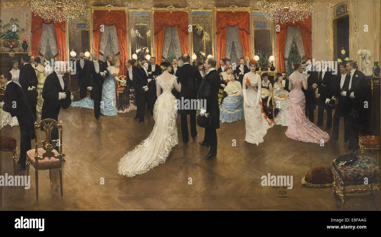 Soirée. Künstler: Béraud, Jean (1849-1936) Stockbild