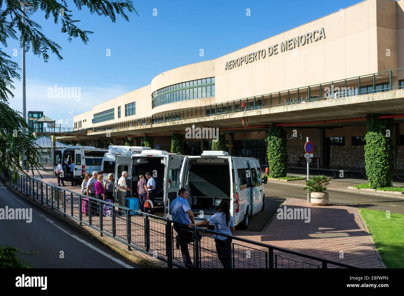 mahon airport menorca spanien stockfoto bild 74108237. Black Bedroom Furniture Sets. Home Design Ideas