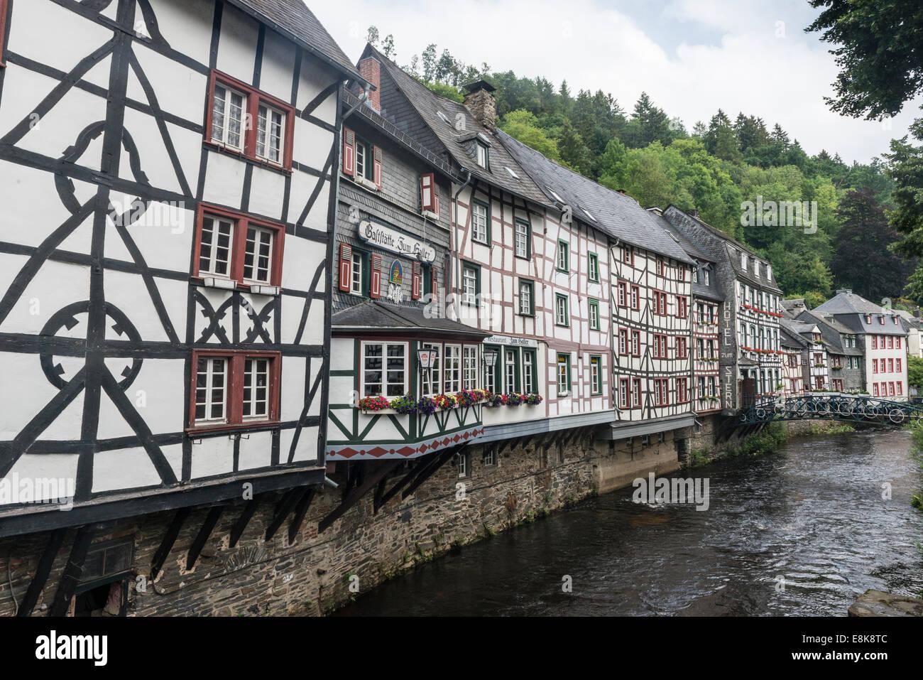Fachwerkhäuser Von Historischen Stockfotos