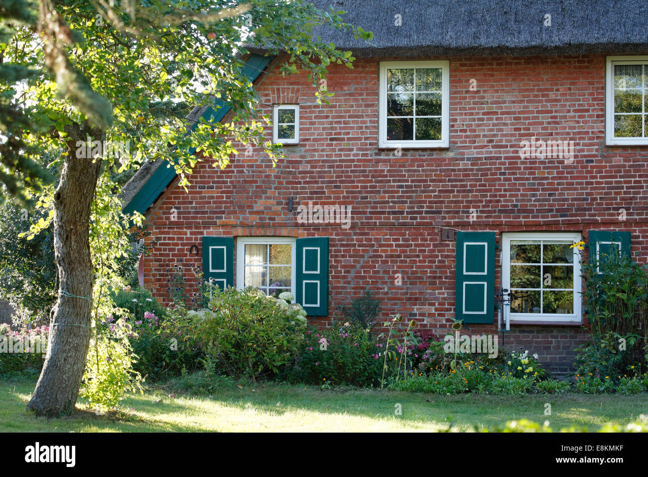 brick house germany stockfotos brick house germany bilder alamy. Black Bedroom Furniture Sets. Home Design Ideas