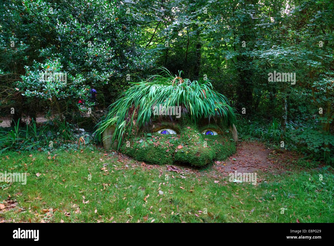 Lost Gardens of Heligan, Mevagissey, Cornwall, England, Vereinigtes Königreich Stockbild