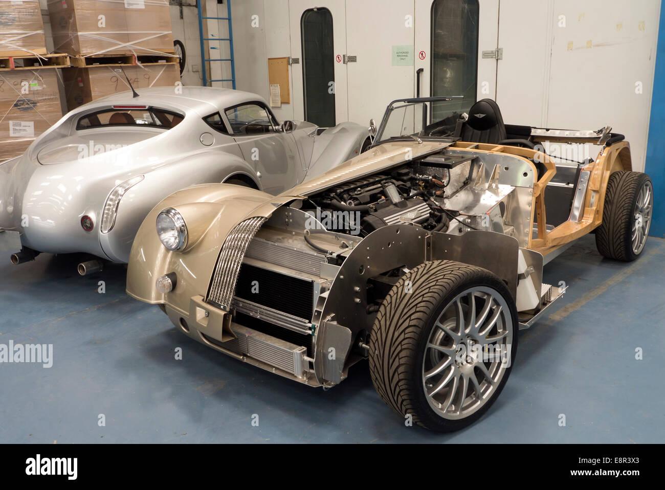 Morgan Plus 8 Genfer Autosalon Anzeige Auto In Der Morgan Fabrik