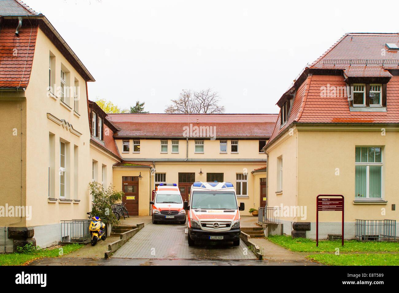 Leipzig Deutschland 14 Oktober 2014 Blick Auf Die Klinik Für