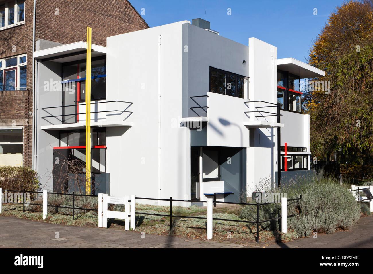 Rietveld Schröder Haus Prins Hendriklaan 50 Utrecht Niederlande