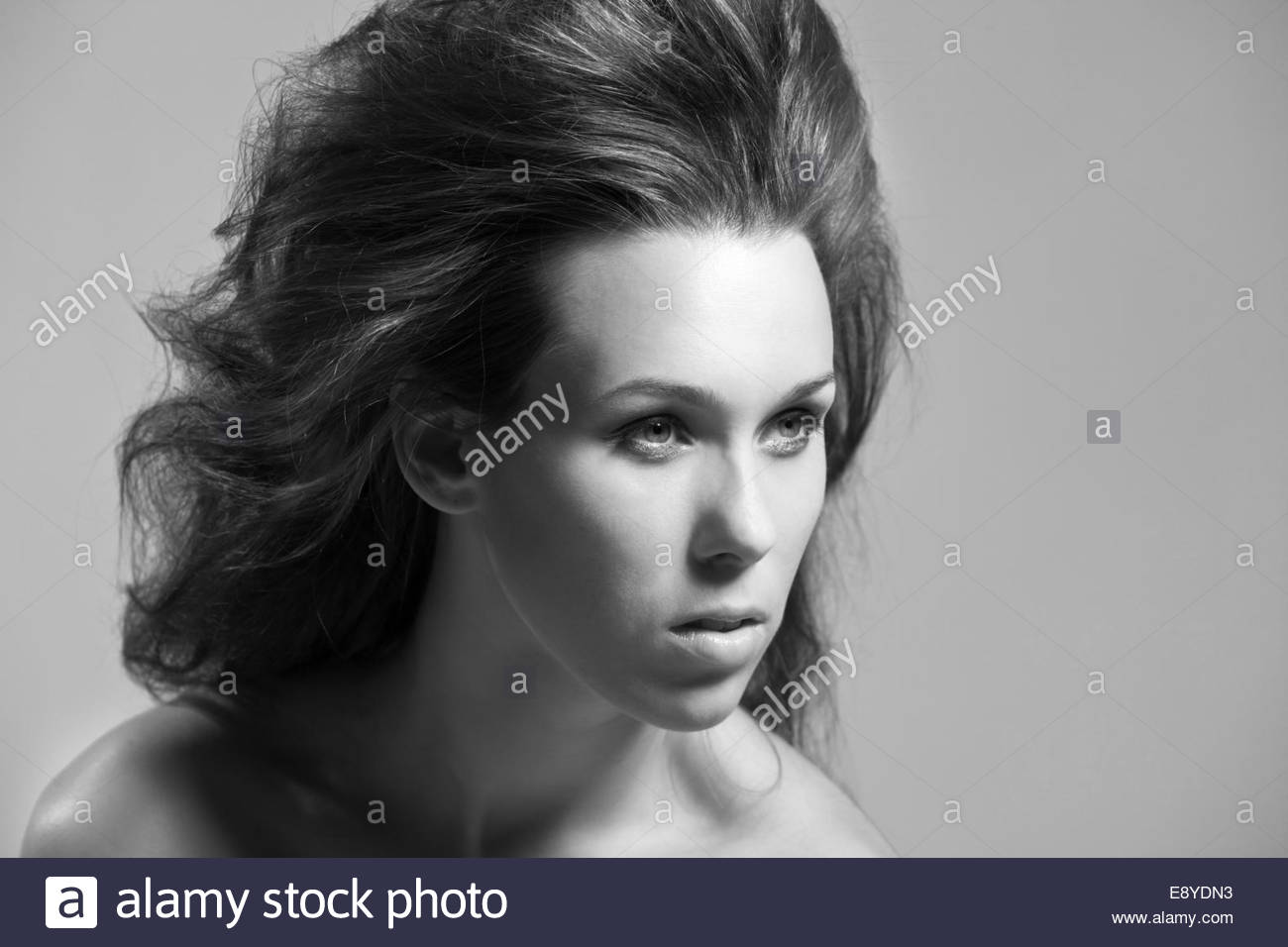 Wilde Frisur Stockfoto Bild 74362207 Alamy