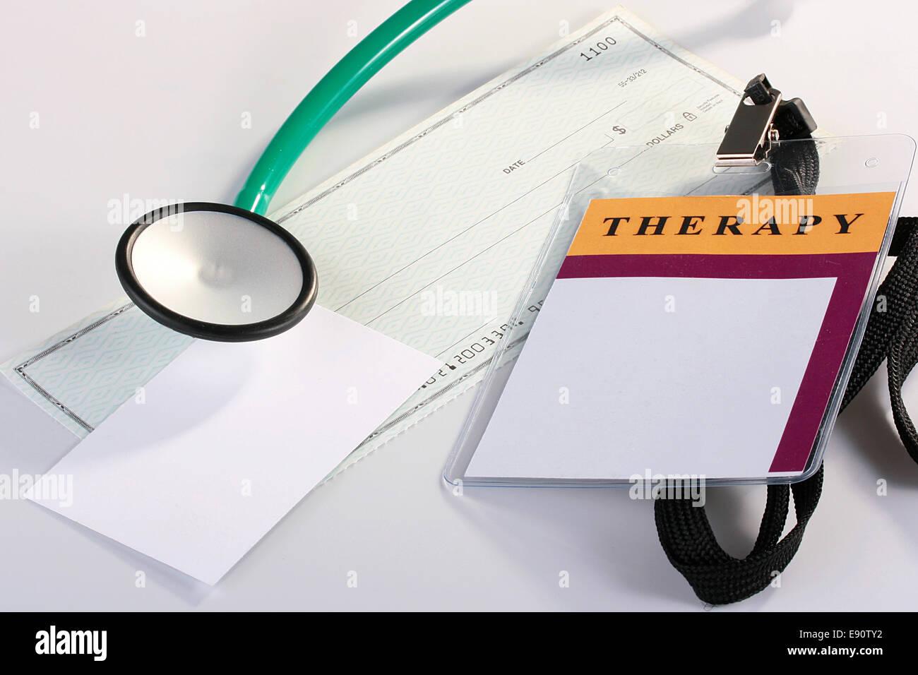 Finanzierung in der Medizin Stockbild