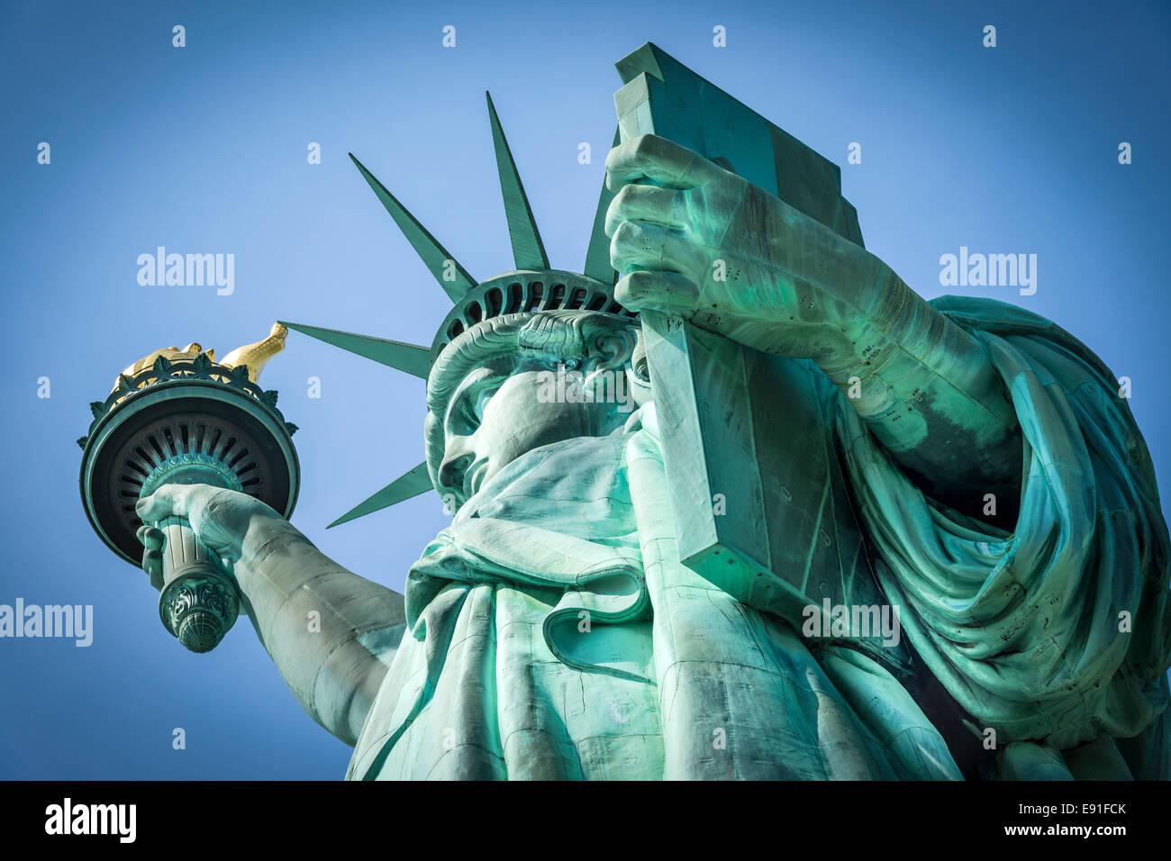 Freiheitsstatue, New York Stockbild
