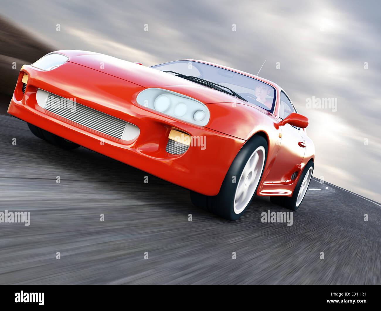 Sport Auto Stockbild