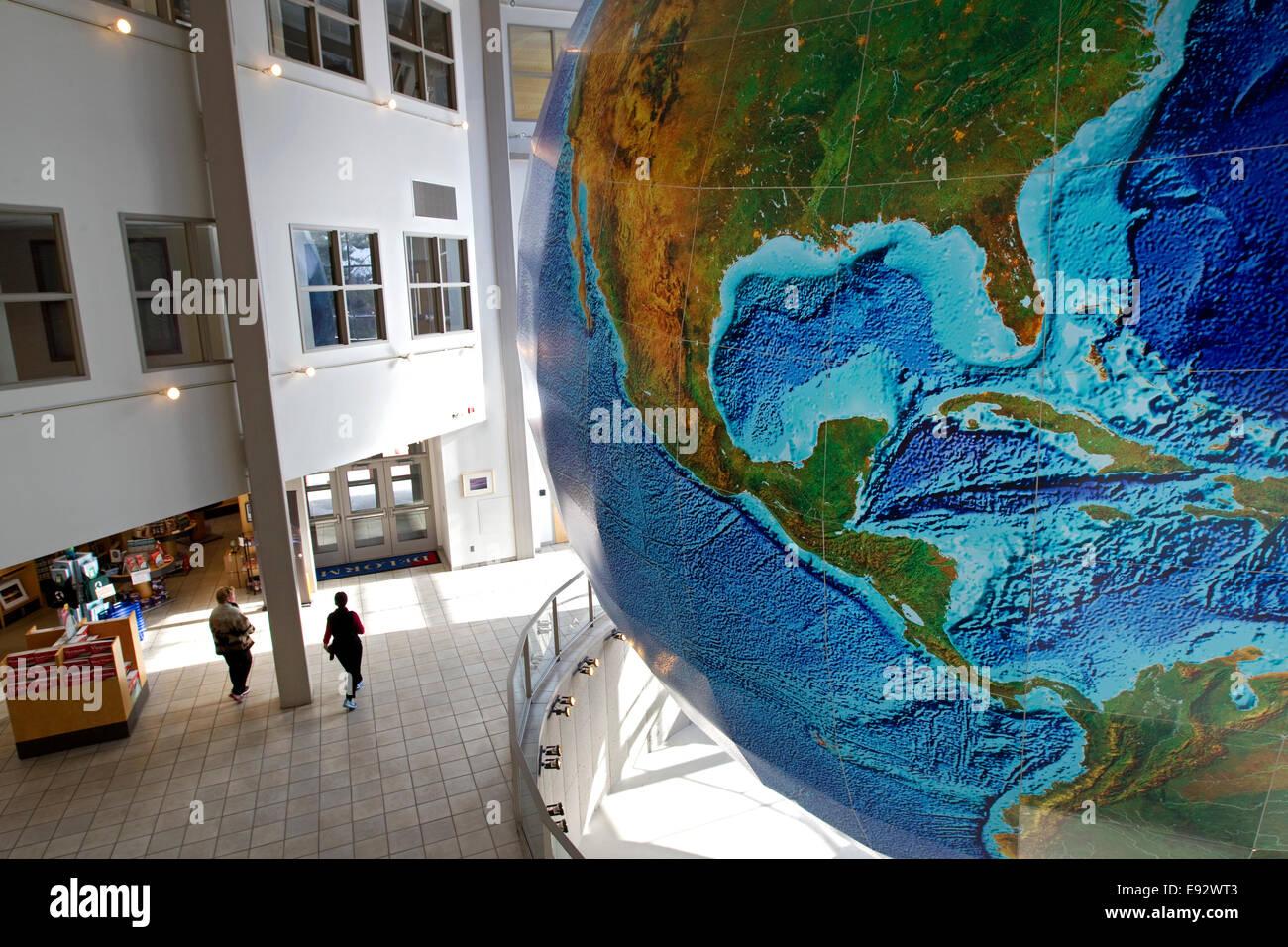 Globus, Eartha, weltweit größte rotierende und rotierender Globus on
