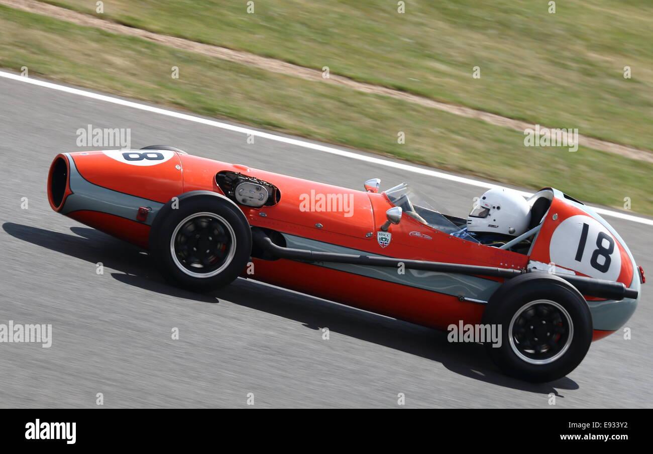 Sadler FJ klassische Formel Junior Rennwagen Stockbild