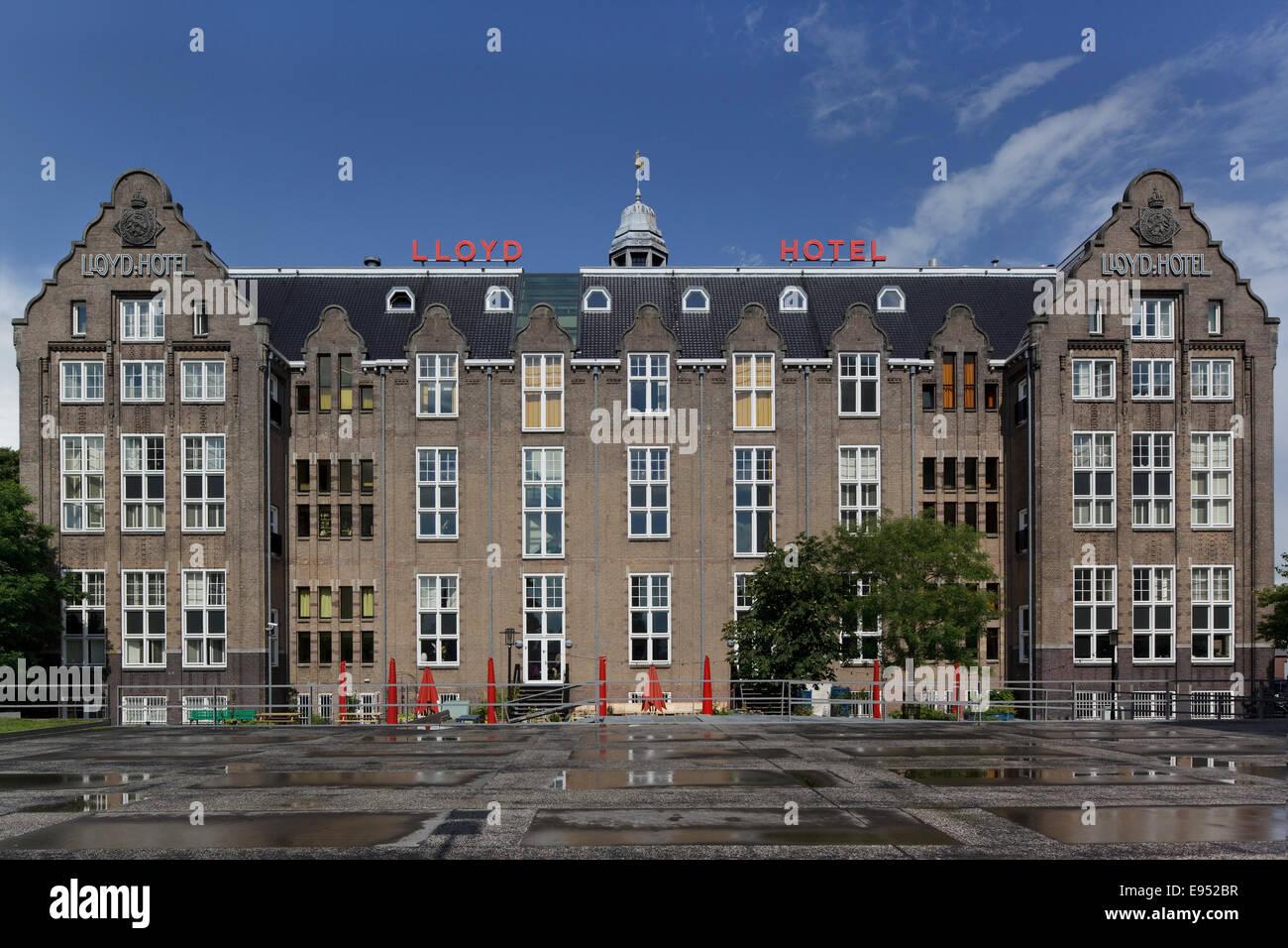 Lloyd Hotel Amsterdam Niederlande Architekt Mvrdv 2004 Main Hohe