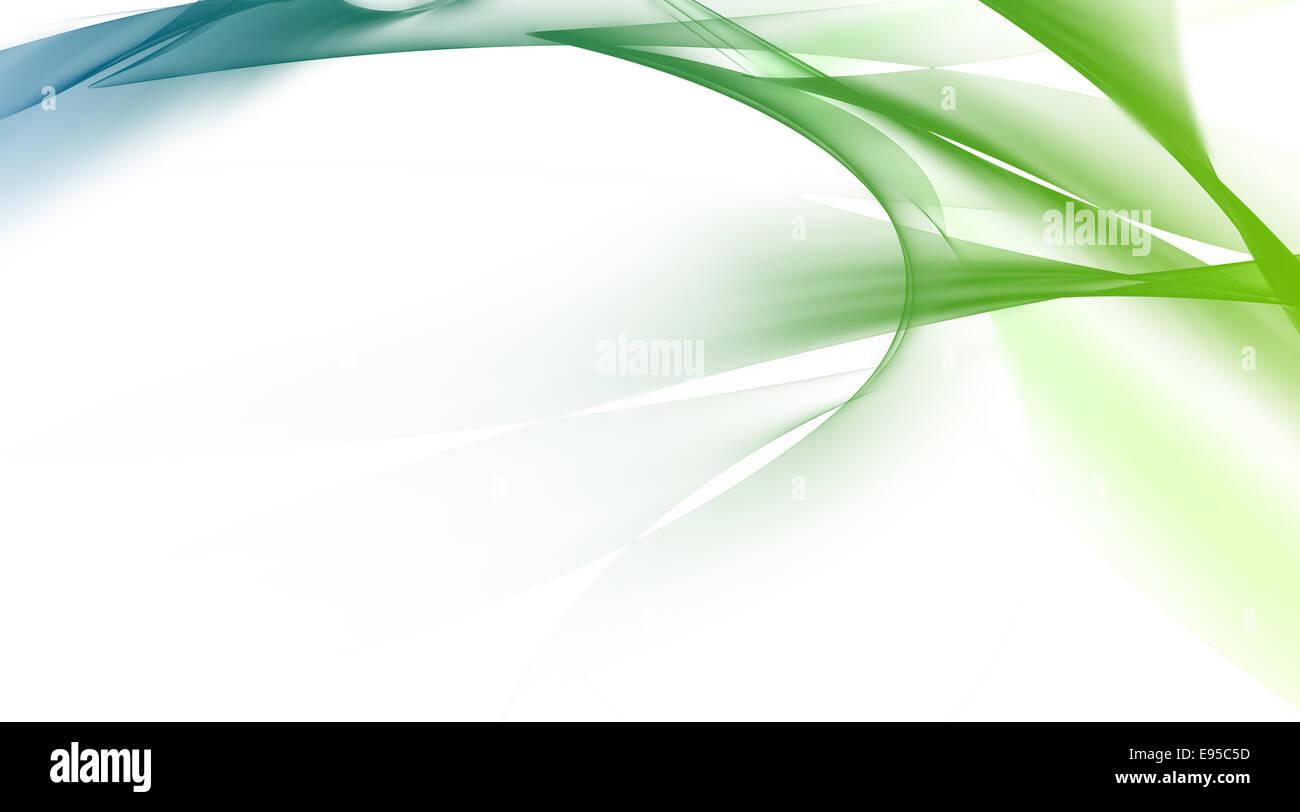 Gren abstrakten Hintergrund, Digital generiert. Stockbild