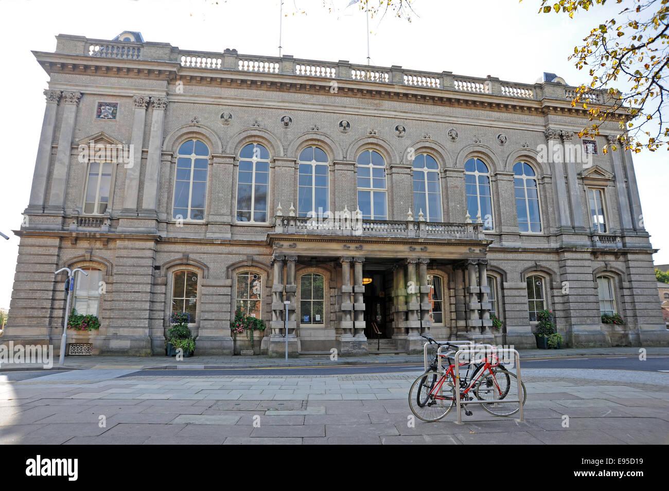 Grimsby Town Hall-Altbau Stockbild