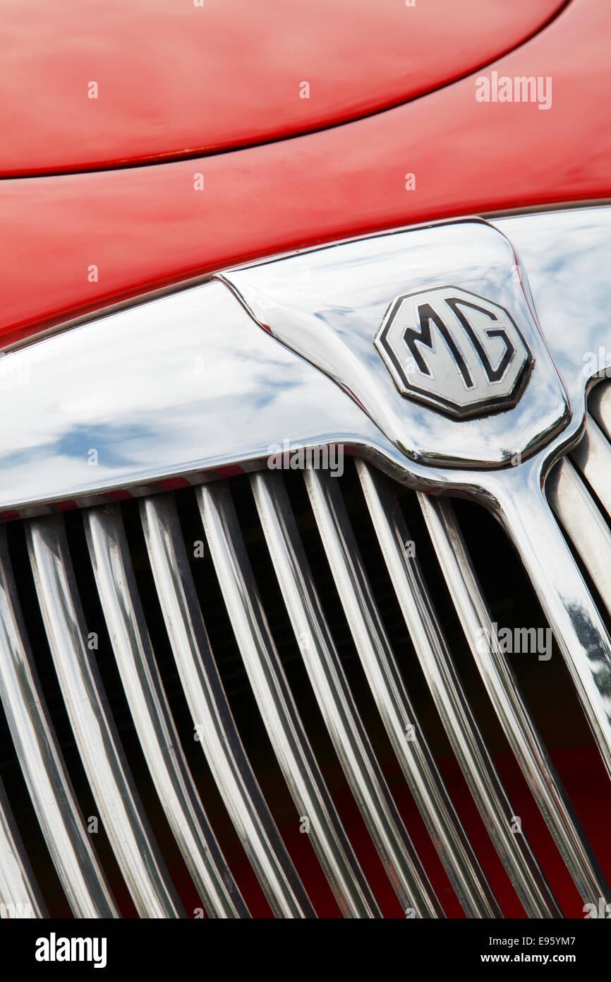 Oldtimer MG MGA Stockbild