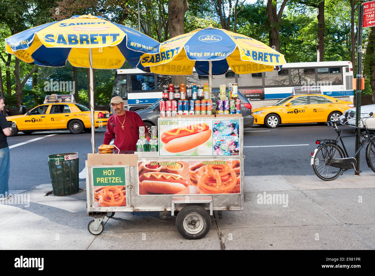 Sabrett Hot Dog Trucks