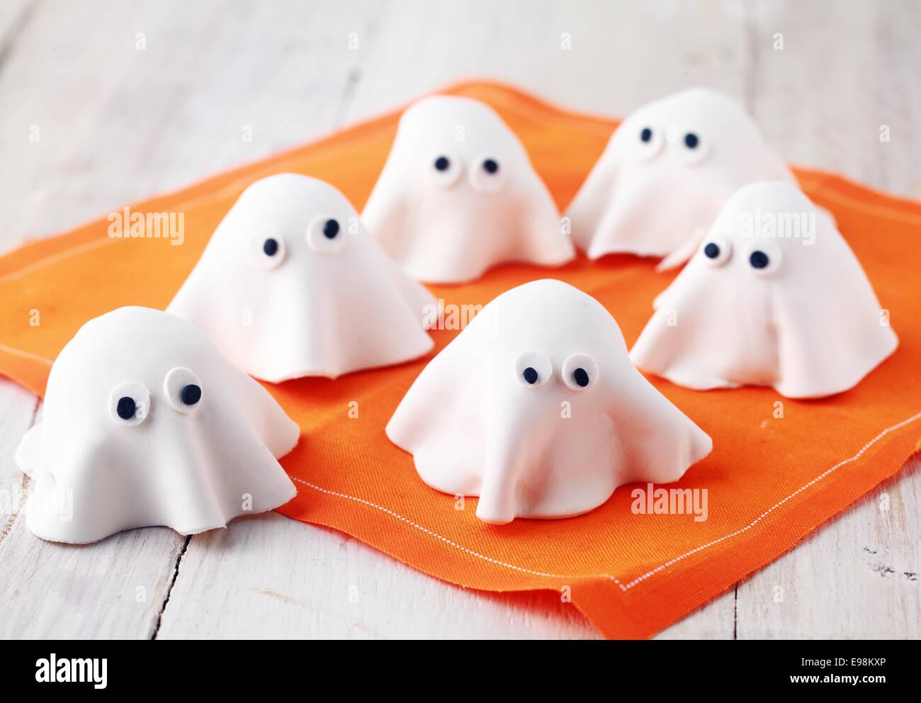 Beangstigend Weissen Essbare Halloween Ghost Vorspeisen Fur Party