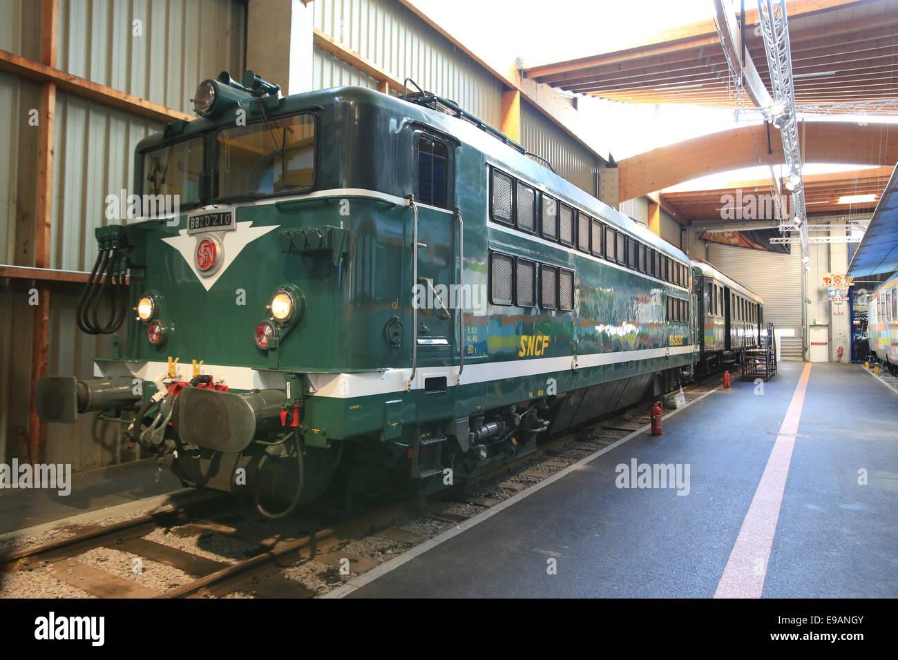 Die Cité Du Train Englisch Stadt Mit Der Bahn Oder Dem Zug