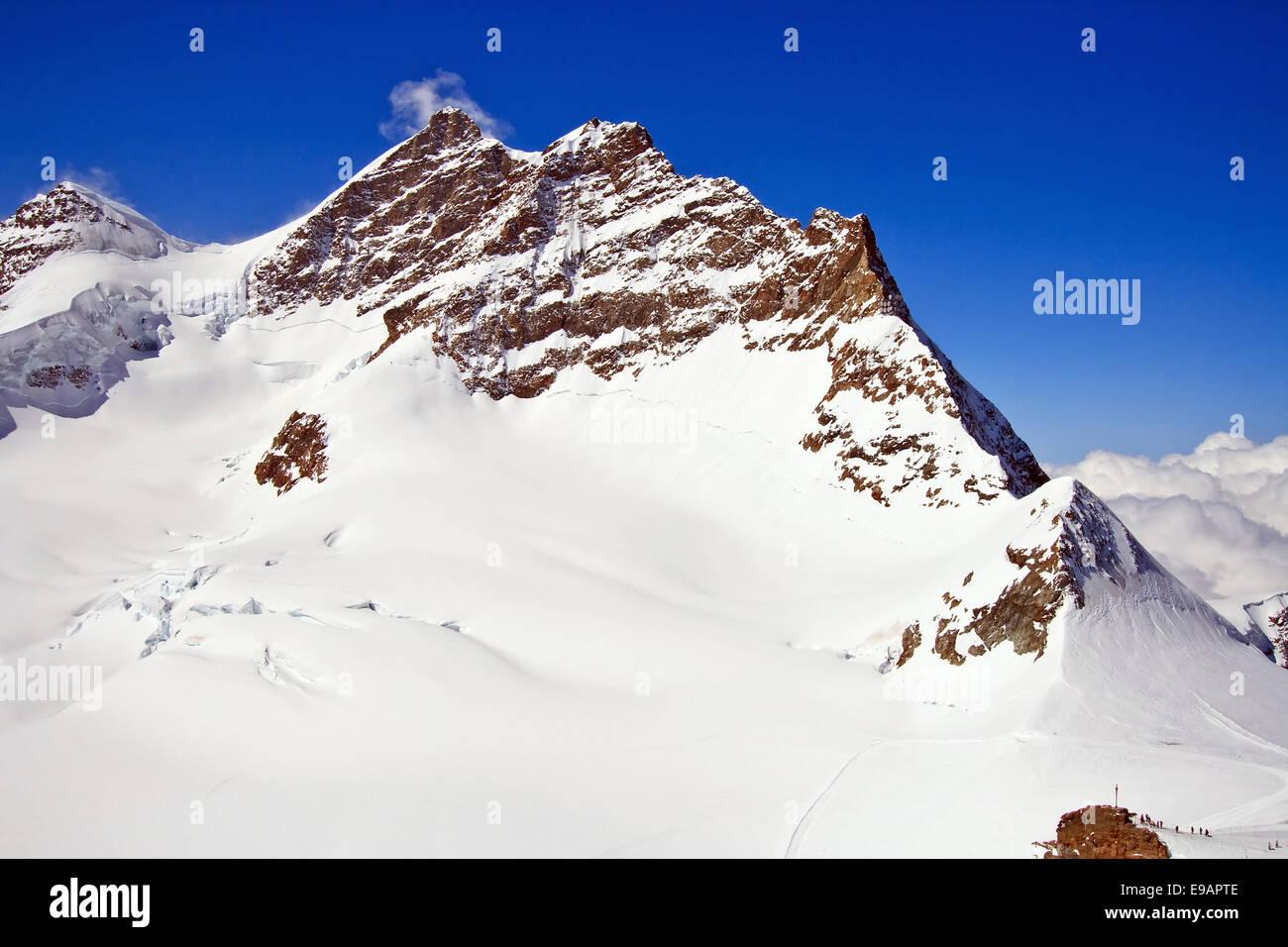 Die Schweizer Alpen Matterhorn Stockbild