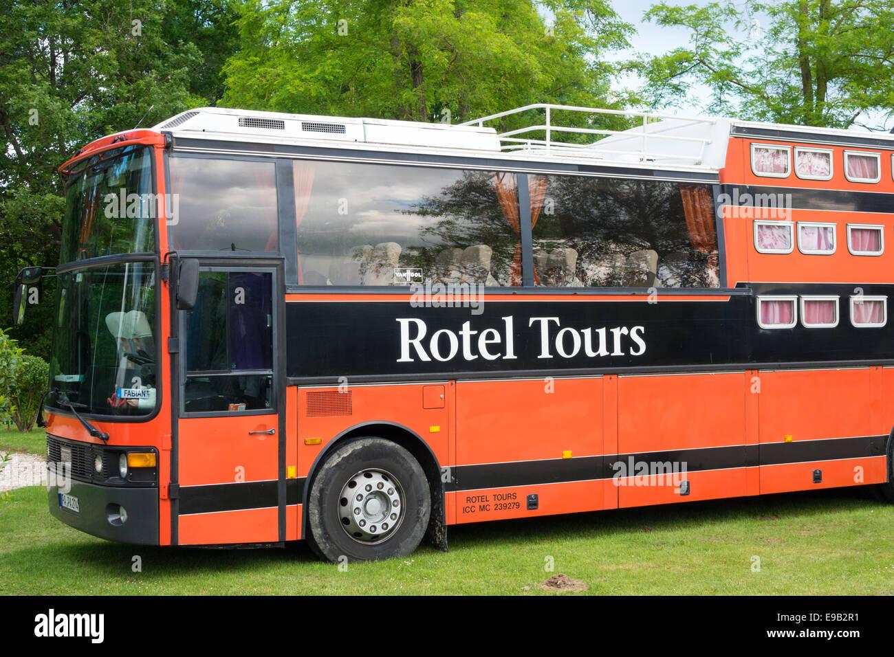 Rotel tours kabine