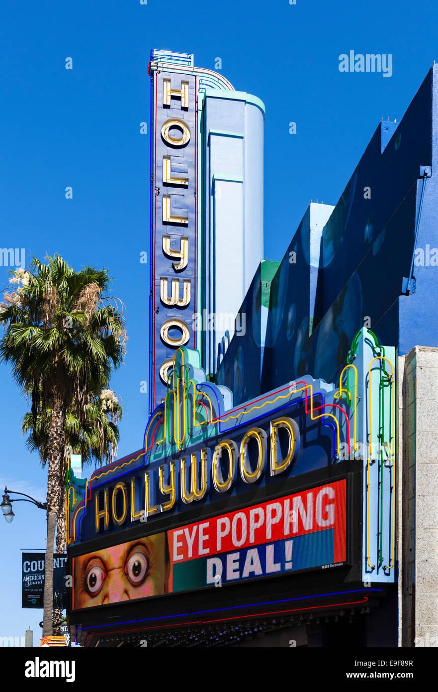 Ripleys Guinnes World Records Museum Hollywood Boulevard, Hollywood, Los Angeles, Kalifornien, USA Stockbild
