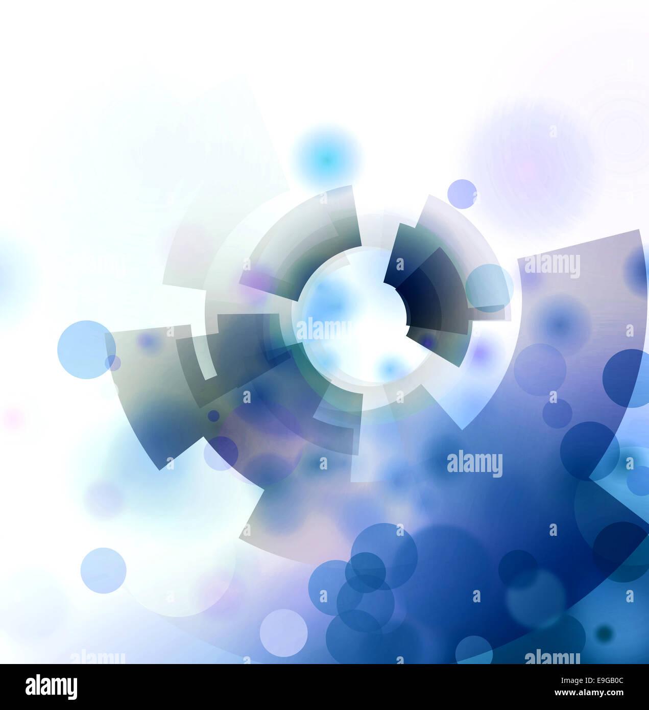 abstrakte Wissenschaft Hintergrund Stockbild