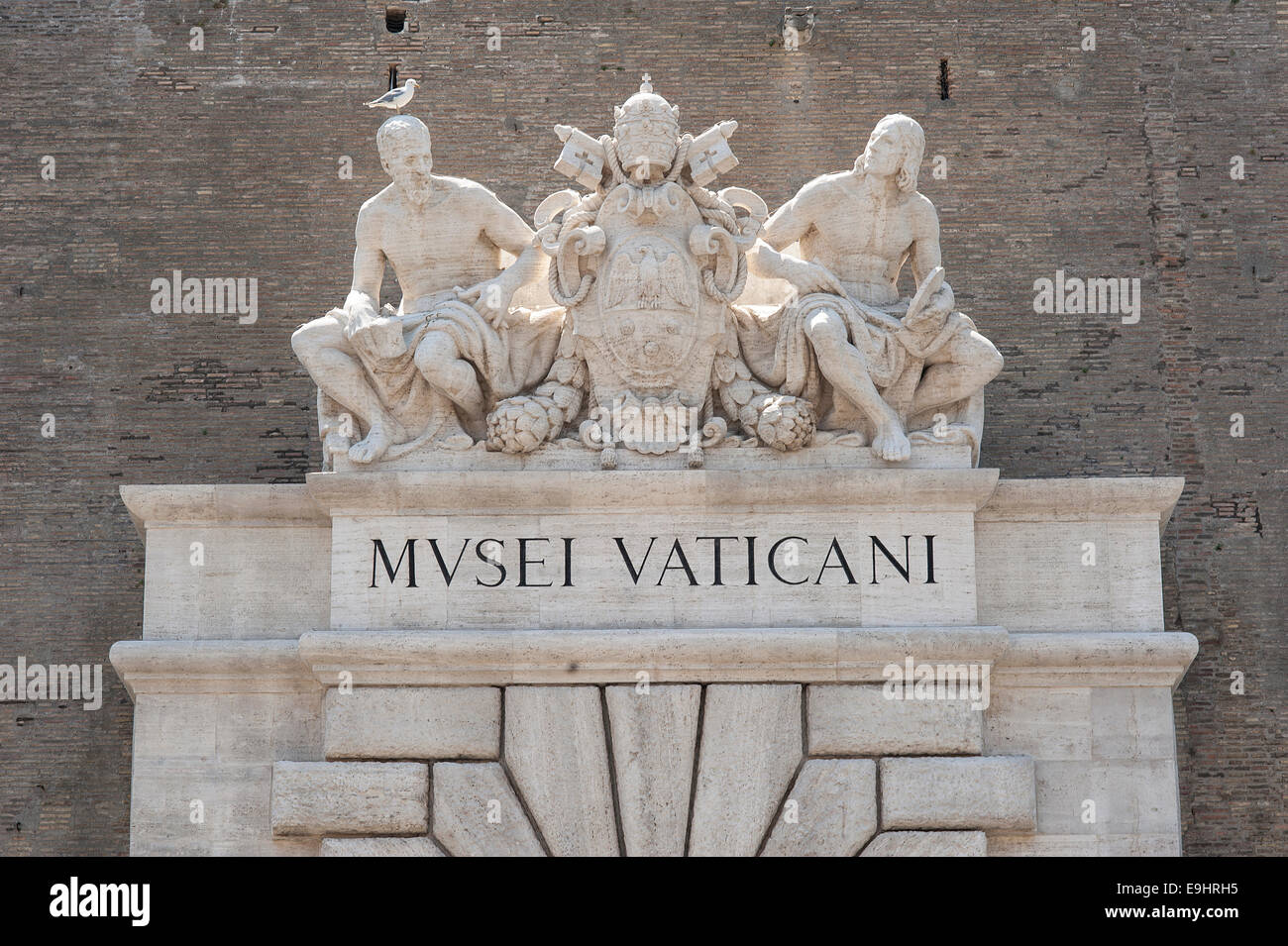 Die Vatikanischen Museen Stockfoto Bild 74765073 Alamy