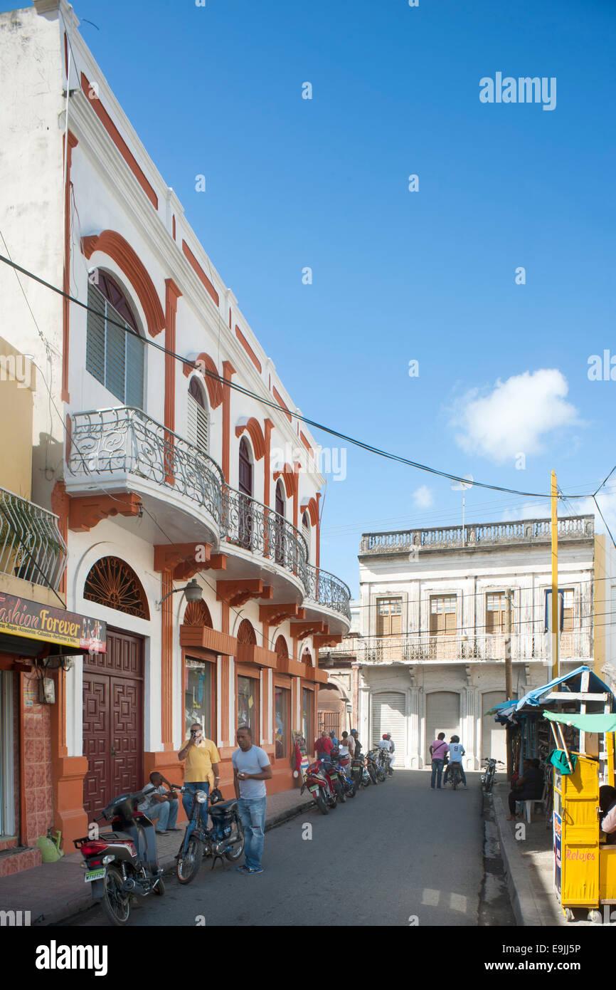 Dominikanische Republik, Osten, San Pedro de Macoris, Stockbild
