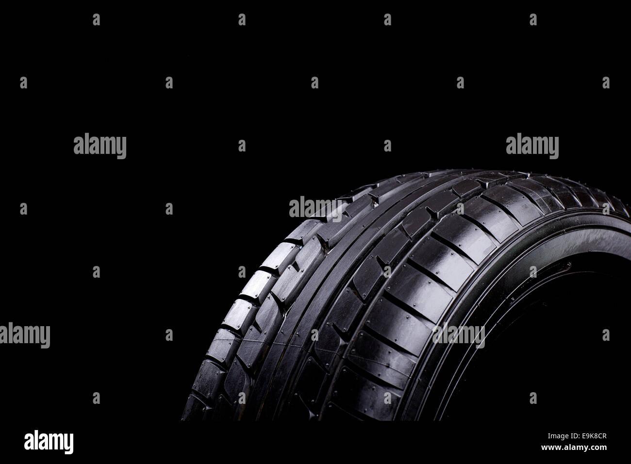 Auto Reifen Stockbild