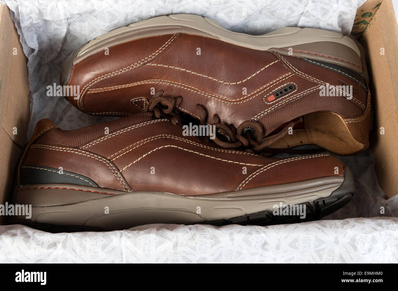 Herren Clarks Active Air Schuhe Stockfoto, Bild: 74826304