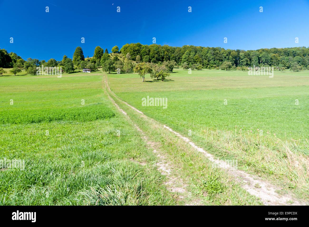 Schwäbischen Alb, Deutschland Stockbild