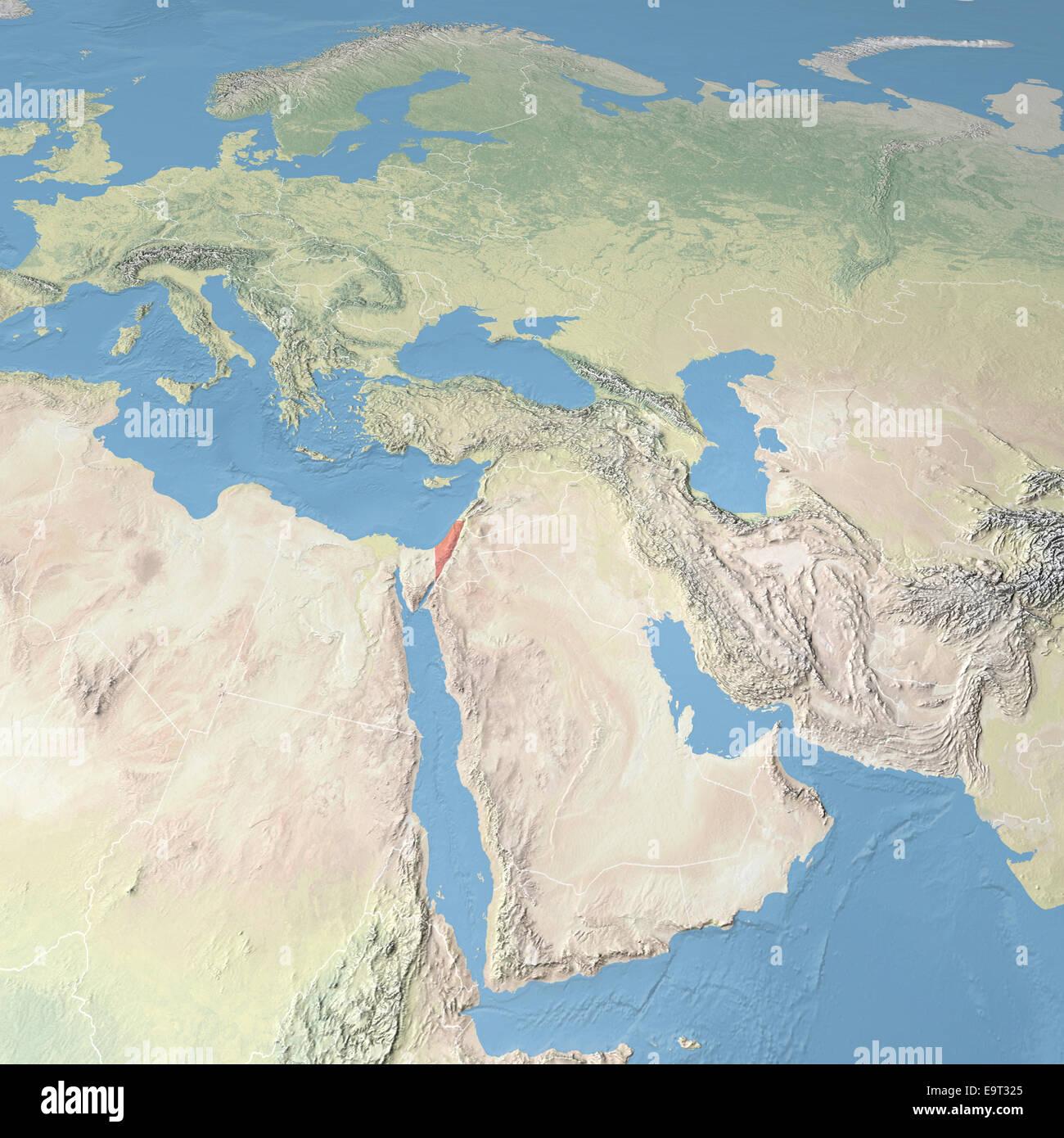 Nahost Karte.Karte Von Europa Asien Und Nahost Elemente Dieses Bildes