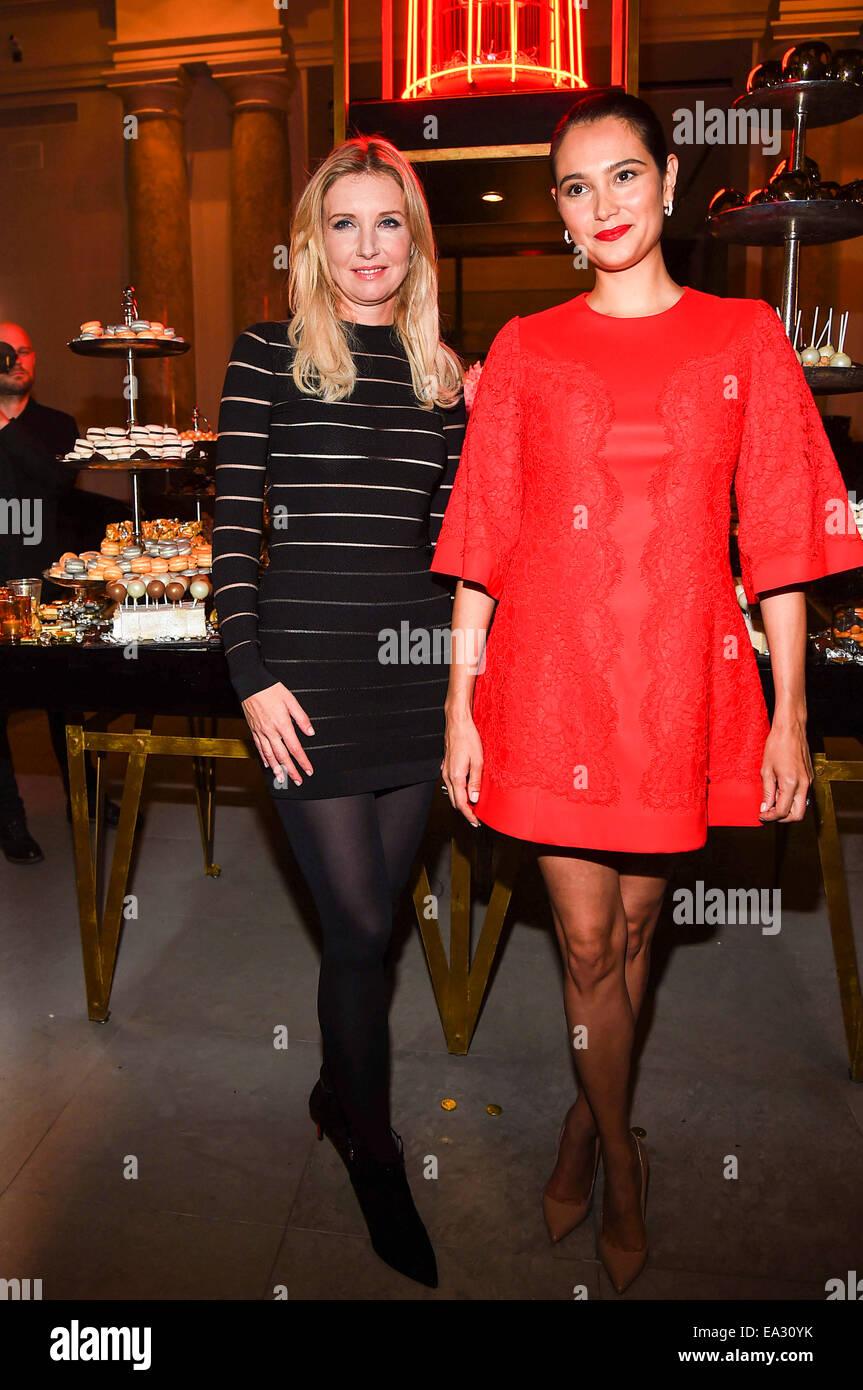 half off 3d17d 7bf0e Deutsche Mode-Designerin Jette Joop und Emma Heming-Willis ...