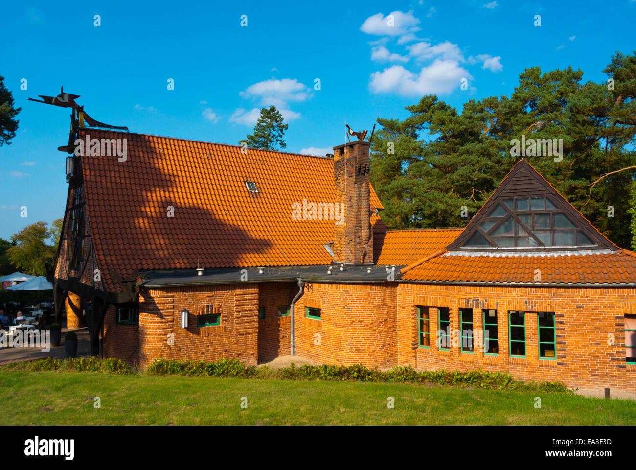 Künstlerhäuser Worpswede, Künstler Recidency, Worpswede Dorf in der Nähe von Bremen, Teufelsmoor, Stockbild