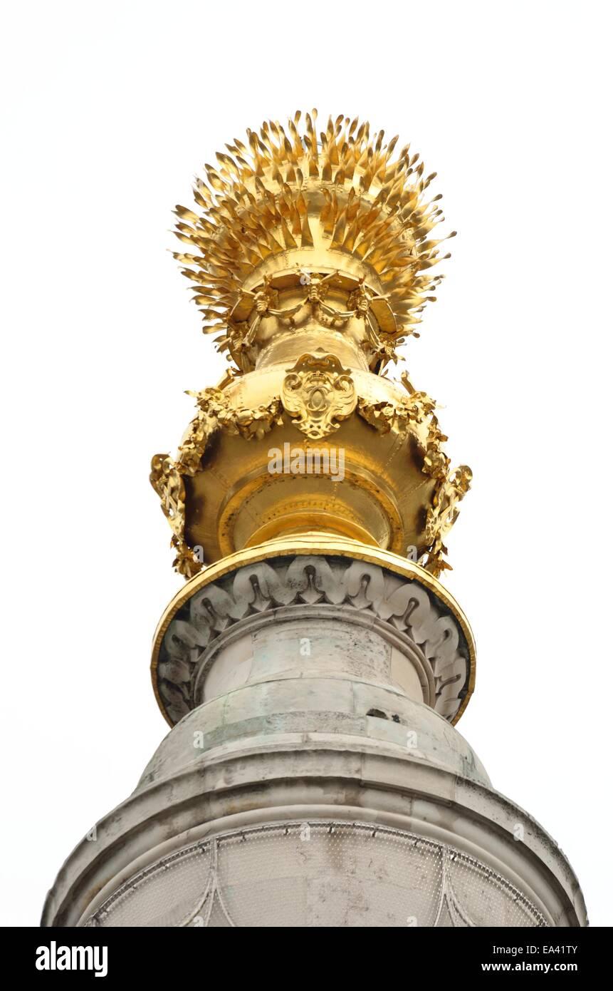 London-Denkmal-oben Stockbild