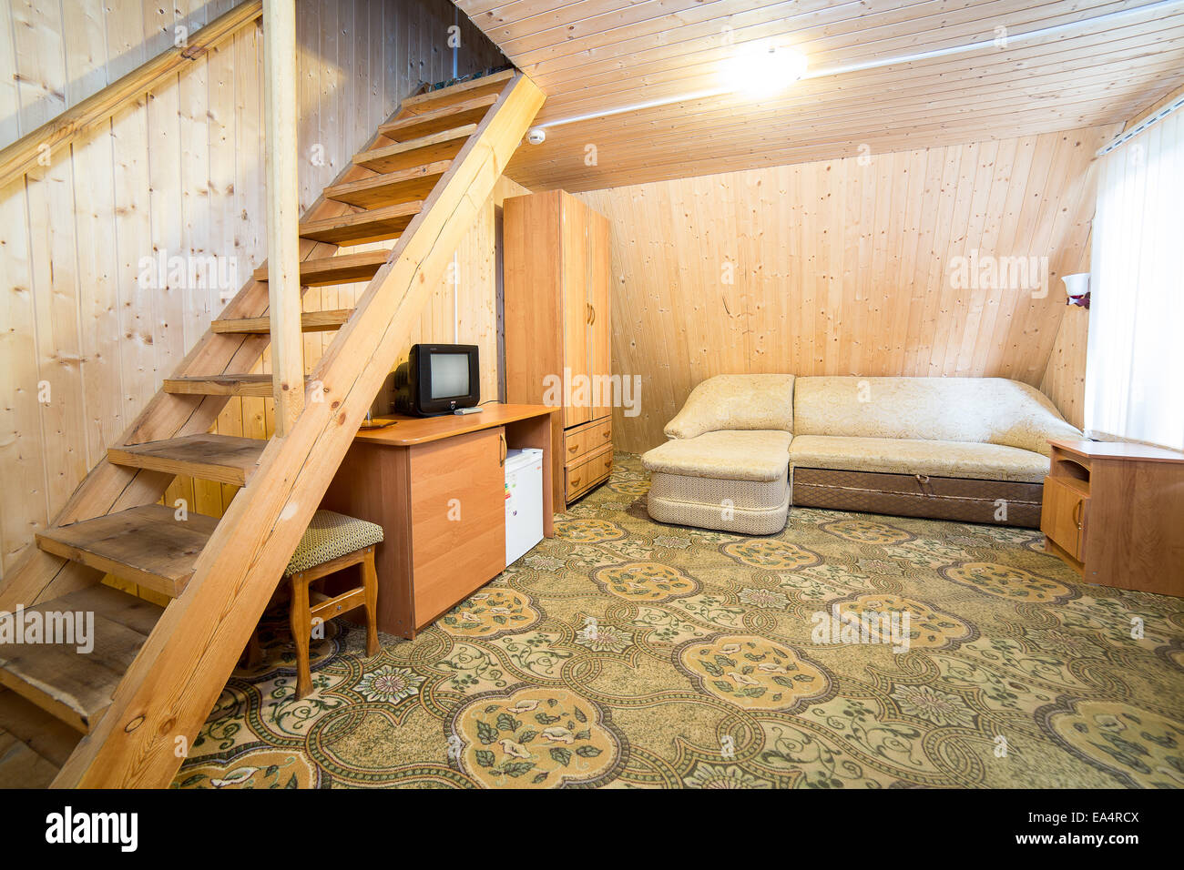 Staircase Carpet Nobody Stockfotos & Staircase Carpet Nobody Bilder ...