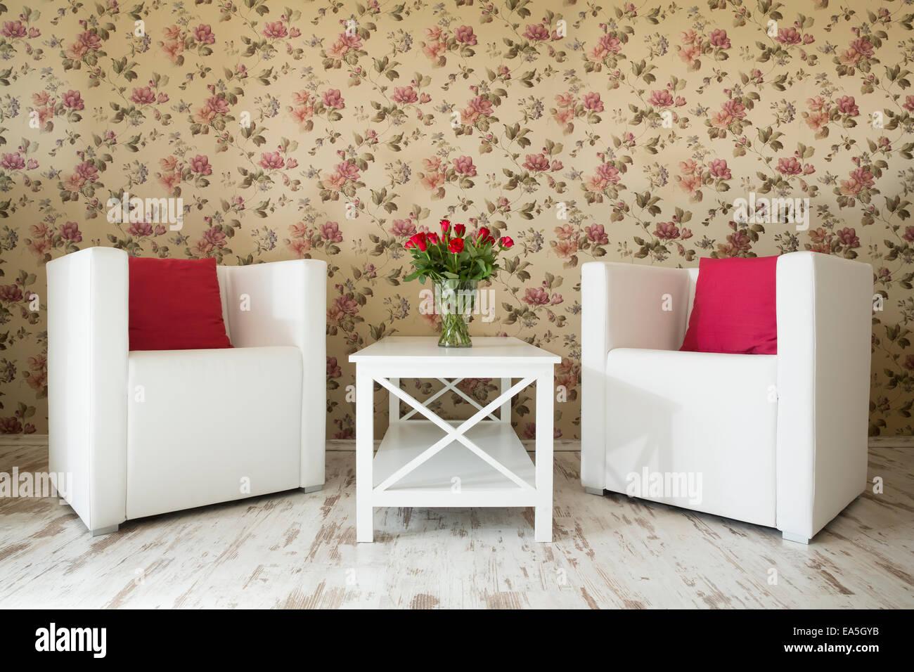 Weiße Sessel Stockfotos Weiße Sessel Bilder Alamy