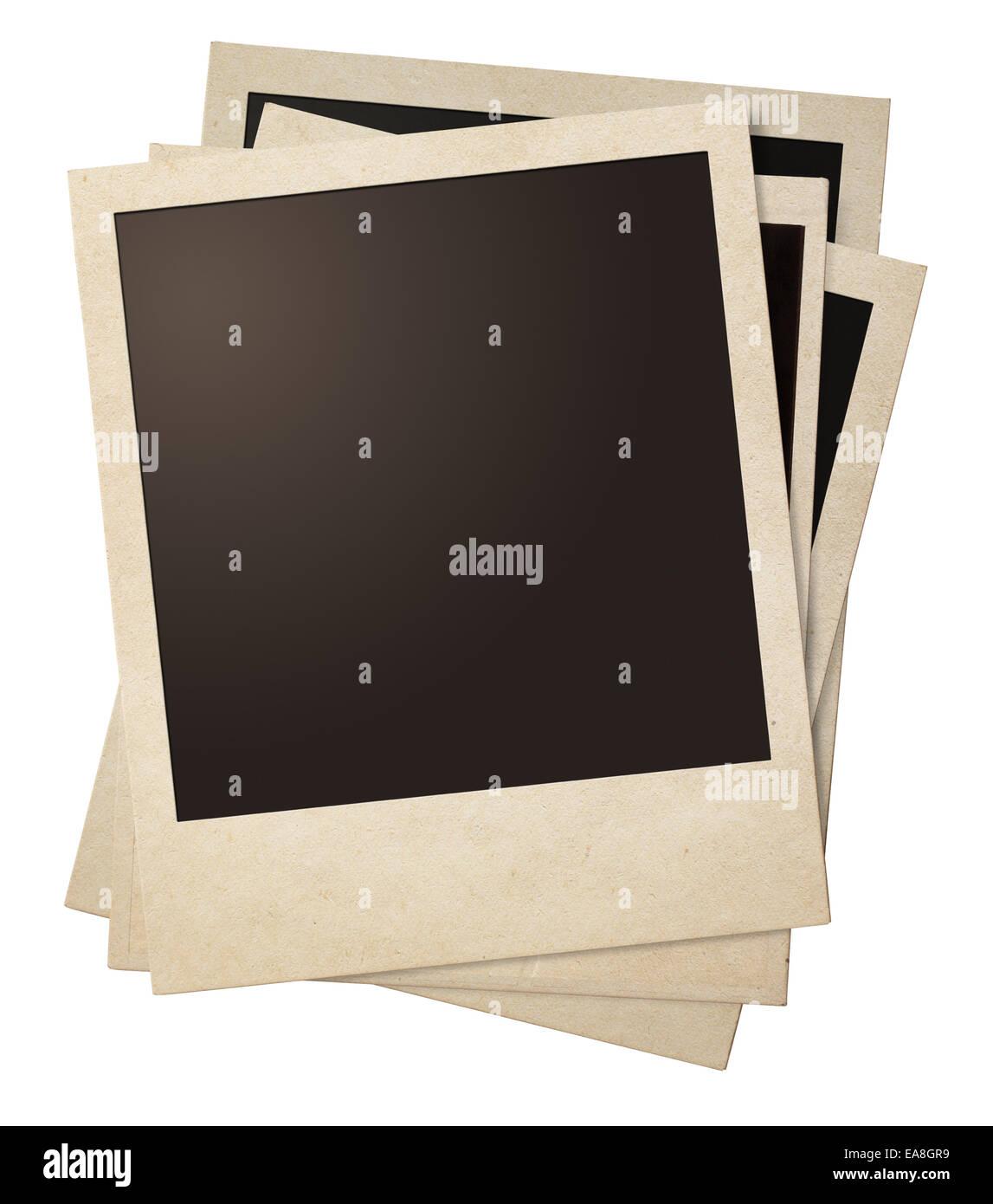 Retro Polaroid Photo Frame Template Stockfotos & Retro Polaroid ...