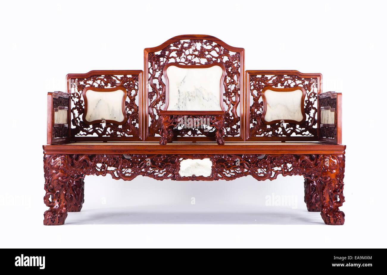 Chinesische Couch Stockbild